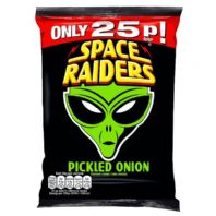 Space raiders Pickled Onion 36 x 25p PMP